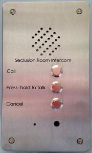 Seclusion Room Intercom