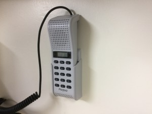 AA711 Desk or Wall Mounted Intercom Station