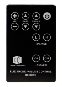 Meeting Room AV In Wall Amplifier Remote Control