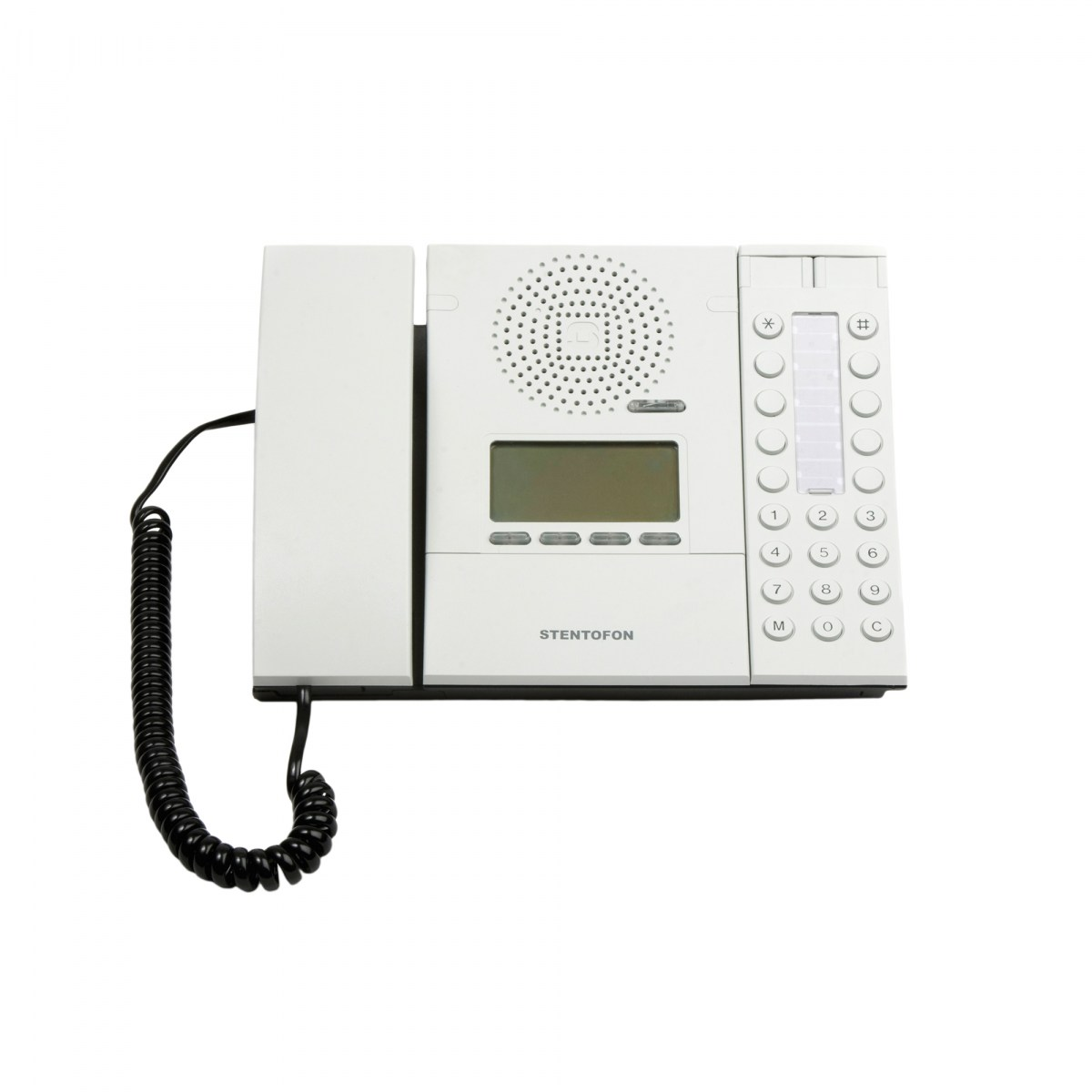 1008001000 IP Desk/Wall Station Display with Handset
