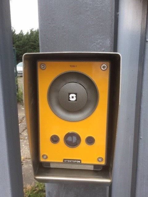 SIP Access Control Intercom in Stainless Steel Hood