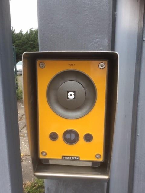 Weighbridge Intercom Station with Stainless Steel Hood